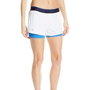 Women's Under Armour HeatGear 2-In-1 Shorty XS